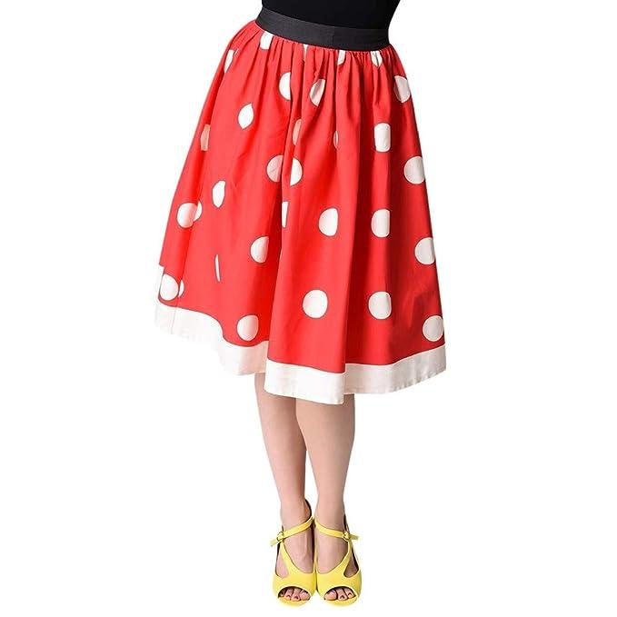 dc4a9a935 Vectry Faldas Rojo Faldas Mujer Faldas Cortas con Vuelo Falda Tul Niña Falda  Vaquera Mujer Falda Tutu Falda Larga Mujer Falda con Vuelo  Amazon.es  Ropa  y ...
