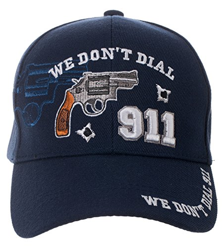 Dont Dial 911 Hat Embroidered product image