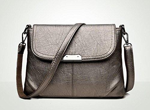 LEODIKA Nuevo bolso de las mujeres, Bolsa de hombro, Mochila, el bolso de las mujeres, mochila pequeña, Salvaje moda, vestidos de ovejas, de la mano de la manija, bolso, de Business Bag Lady. Champagne Color