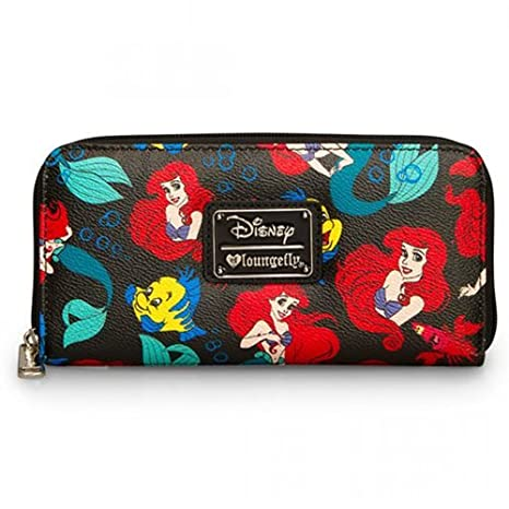 f4cb774b134 Image Unavailable. Image not available for. Colour  Loungefly Disney Little  Mermaid Classic Wallet