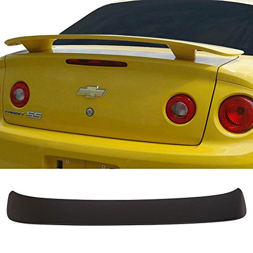 Trunk Spoiler Fits For 2005-2010 Chevy Cobalt 2Dr | Factory Style ABS Unpainted Trunk Boot Lip Spoiler Wing Lid By IKON MOTORSPORTS | 2006 2007 2008 2009 ()