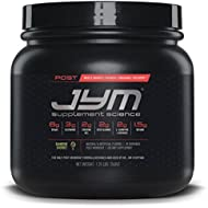 JYM Supplement Science, POST JYM Active Matrix, Rainbow Sherbet, Post-Workout with BCAA's, Glutamine, Creatine HCL, Beta-Alanine, L-Carnitine L-Tartrate, Betaine, Taurine, and more, 30 Servings