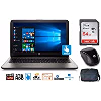 "HP Notebook 17 Bundle, AMD A12, 2TB HD, 12GB, 17.3"" TouchScreen, Office 365 1-yr (Certified Refurbished)"