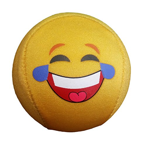 The Original Emoji Water Bouncing Skimming Ball or Emoji Hand Stress Ball and Relief from Novelties Wholesale, (Novelty Wholesale Inc)
