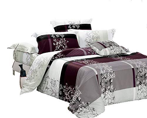 Swanson Beddings May 3-Piece 100% Cotton Bedding Set: