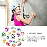 BABY FUN 24 Climbing Holds for Kids and