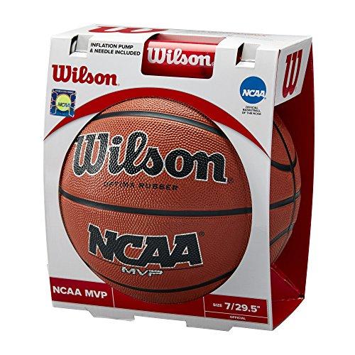 Wilson Sporting Goods NCAA MVP Basketball & Pump, Official Size - - Ncaa Official Basketball