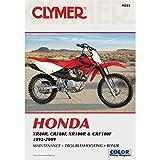 1992-2009 CLYMER HONDA XR80R, CRF80F, XR100R, & CRF100F SERVICE MANUAL M222 NEW