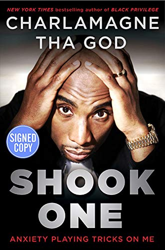 Books : Shook One: Anxiety Playing Tricks on Me - Signed / Autographed Copy