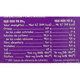 Central Lechera Asturiana Cápsulas de Café con Leche Sin Lactosa – Compatibles con Dolce Gusto – 4 Paquetes de 16…