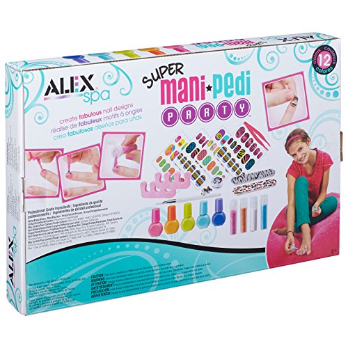ALEX Toys Spa Fun Tattoo s & More Super Mani Pedi Party