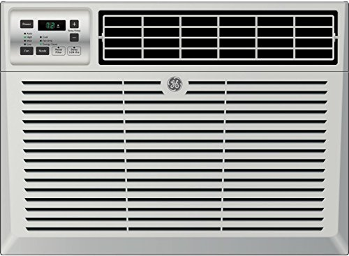 "GE AEM14AX 24"" Window Air Conditioner with 14300 Cooling BTU, Energy Star Qualified in Light Cool Gray"