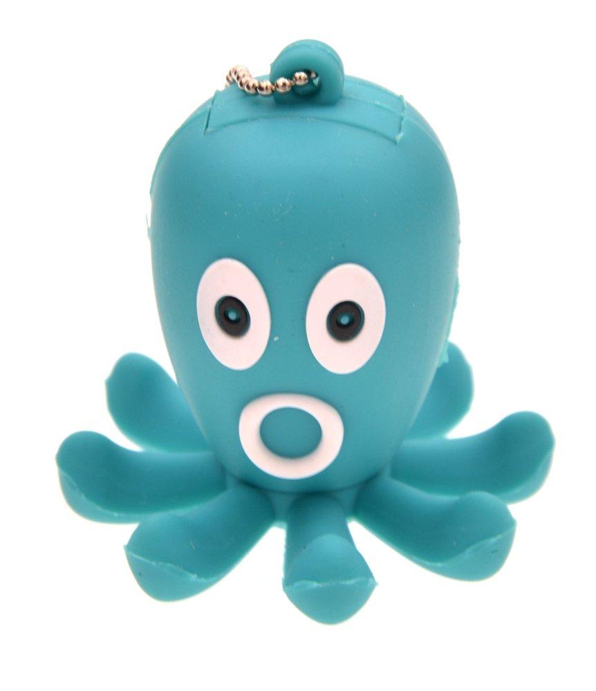 FEBNISCTE Cartoon 16GB USB 3.0 Flash Drive Animal Octopus Shape Storage Thumb Stick