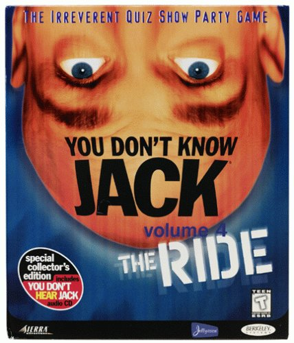 You Don't Know Jack Vol. 4 - The Ride - - Rock Castle Outlet Stores