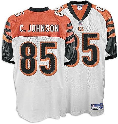 Chad Johnson Cincinnati Bengals #85 Authentic Reebok NFL Football ...