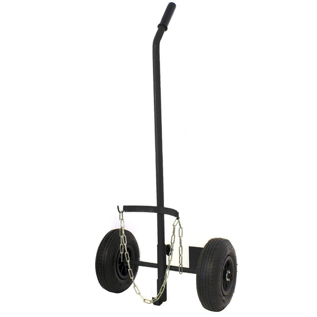 Chariot für Gasflasche 6/13kg mit Rad geschwollen Durchmesser 260mm Proweltek