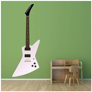 azutura Guitarra eléctrica Estilo Explorador Vinilos Disponible en 8 Tamaños Mediano Digital: Amazon.es: Hogar