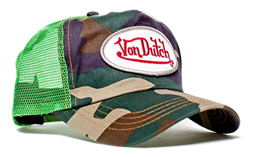 von-dutch-originals-unisex-adult-trucker-hat-one-size-lime-camo