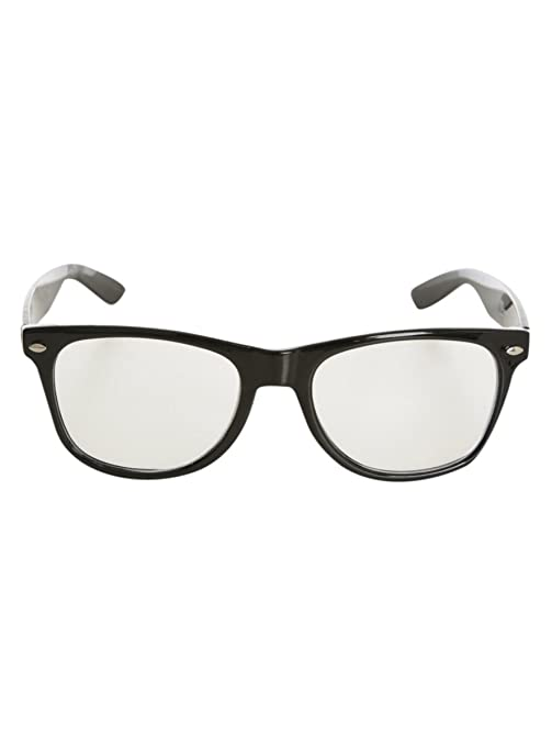 142b9f14160e Amazon.com  Nerd Glasses Black  Clothing