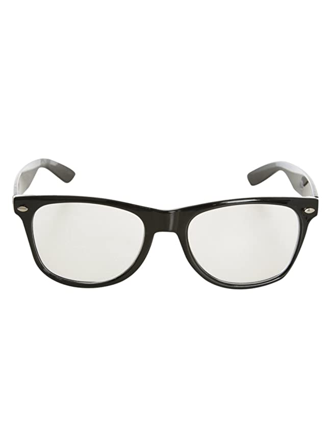 0f10fc35e0e Amazon.com  Nerd Glasses Black  Clothing
