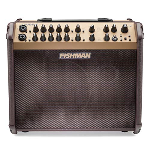 Fishman PRO-LBT-600 Loudbox Artist Bluetooth 120W Acoustic Guitar Amplifier (Best Amp For Backing Track)