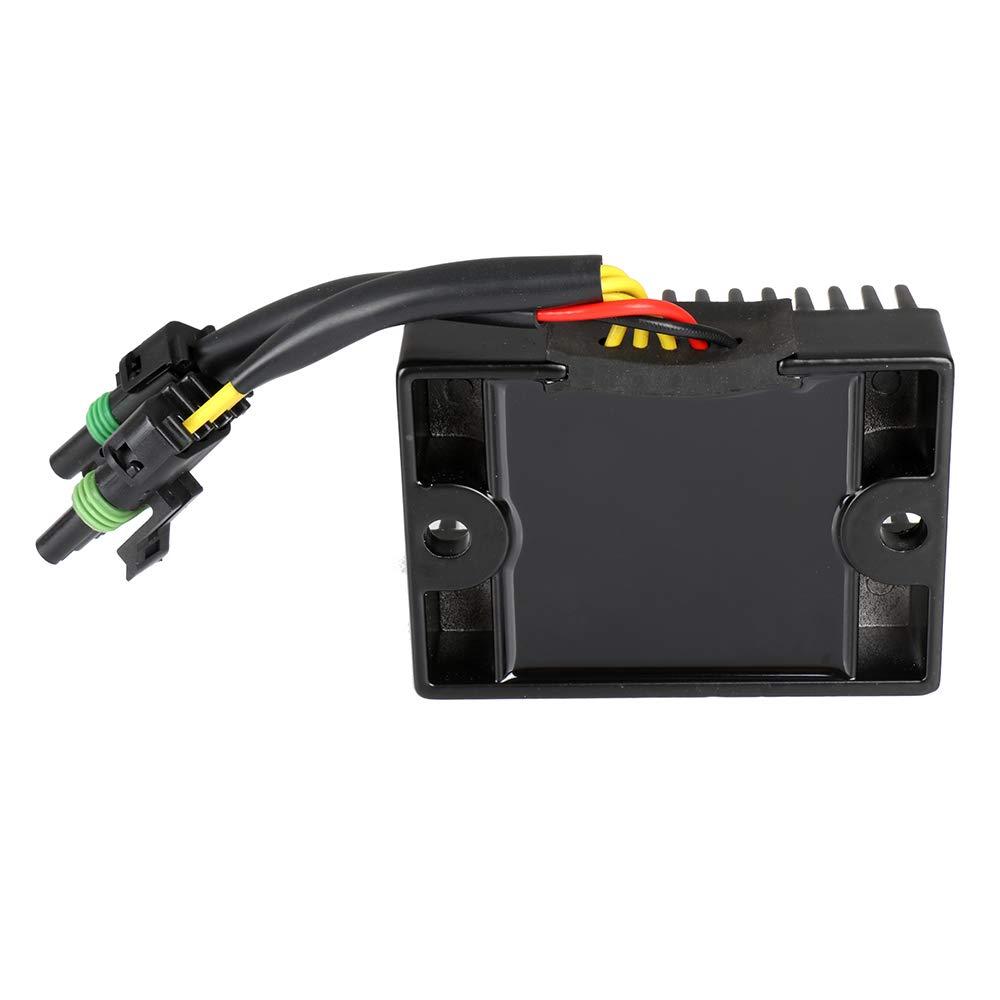 TUPARTS 278000241 Voltage Regulator Rectifier Replacement Rectifier Fit for 99-00 Sea-Doo GSX RFI 03-04 Sea-Doo GTI LE RFI 04 Sea-Doo GTI RFI 00-03 Sea-Doo GTX DI