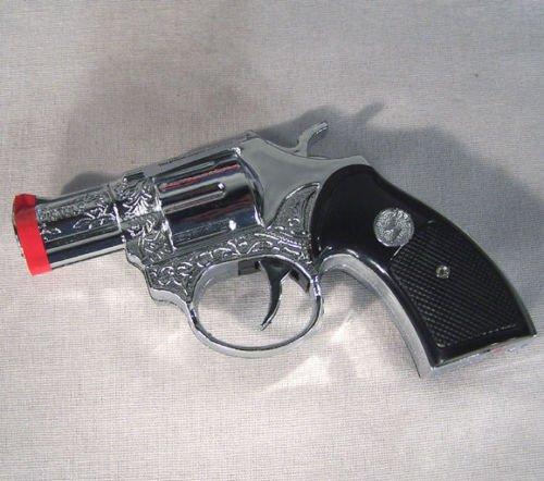 Shocking Guns (10 SHOCK GUN + FLASHLIGHT SHOCKING CAP PISTOL PRANK GAG)