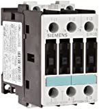Siemens 3RT10 24-1AP60 Motor Contactor, 3 Poles, Screw Terminals, S0 Frame Size, 240V at 60Hz and 220V at 50Hz AC Coil Voltage Voltage