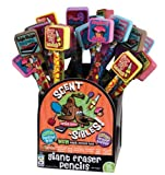 DDI - Scent-sibles Pencils w/ Giant Erasers & Grip (1 pack of 72 items)