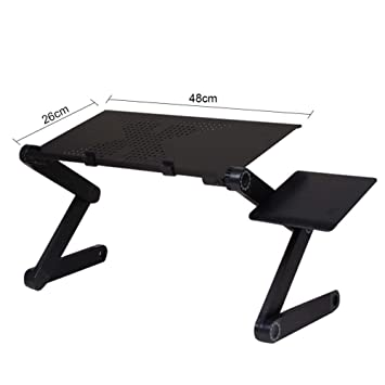 Yilcohwy Laptop Sofa Table Bandeja De Soporte Plegable Ajustable ...