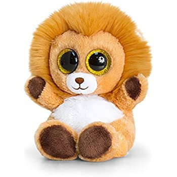 Keel Toys SF0443 15 cm Animotsu Lion Plush Toy by Keel Toys