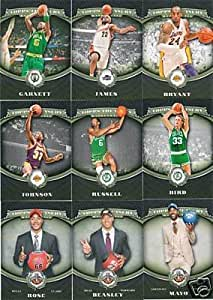 2008 2009 Topps Treasury NBA Basketball Complete Mint 120 Card Hand Collated Set Including Rookies an dHall of Famers