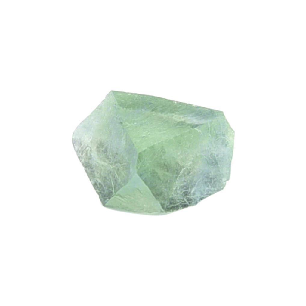 Igemy Naturel hexagonal Cristal Quartz Gu/érison Baguette de Fluorite Pierre Violet Vert Gem