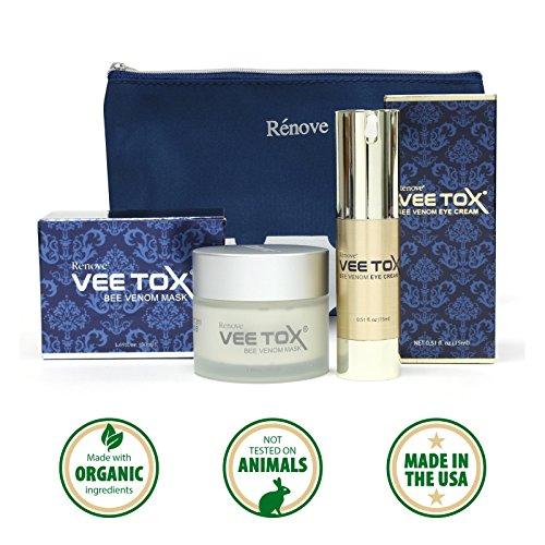 RENOVE VEE TOX Anti Aging Cream and wrinkle treatment - B...