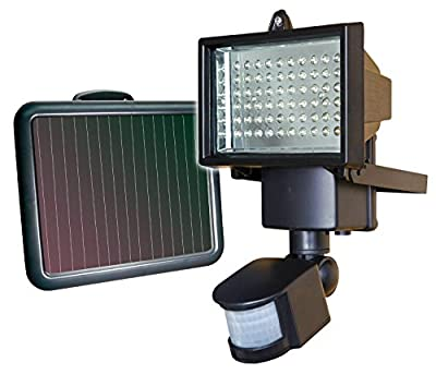 60 LED Solar Powered Security Flood Lights Outdoor Garden Path Drive Way