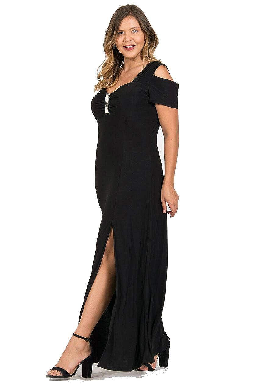 R&M Richards Long Plus Size Formal Dress at Amazon Women\'s Clothing ...