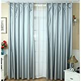 lieomo 1 Pair Solar Reflective Coated, Blackout Thermal Curtain Lining,Includes 40 Curtain Hooks (66.9'' (170cm) Wide x 78.7'' (200cm)