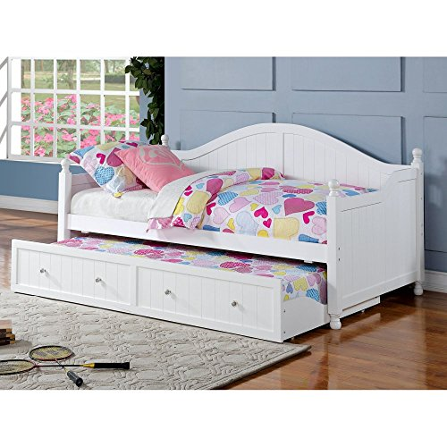Daybed White Twin Link Spring - 8