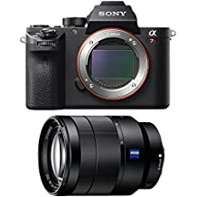 Sony a7R II Mirrorless Interchangeable Lens Camera Body with 24-70mm Lens Bundle - Includes Camera and Vario-Tessar T FE 24-70mm F4 ZA OSS Full-Frame Lens