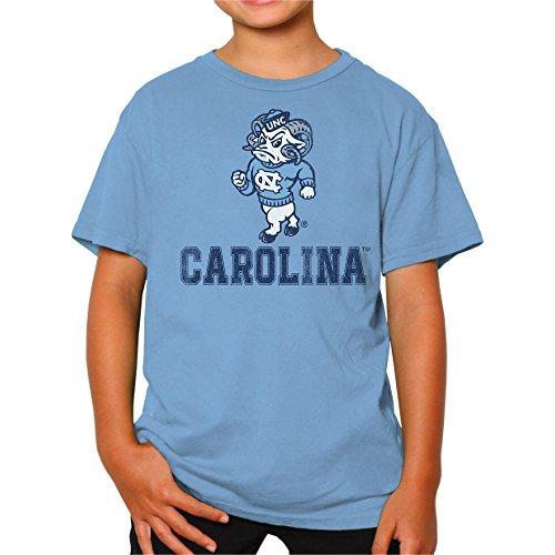 NCAA North Carolina Tar Heels Youth Boys Tee, Large, Carolina Blue
