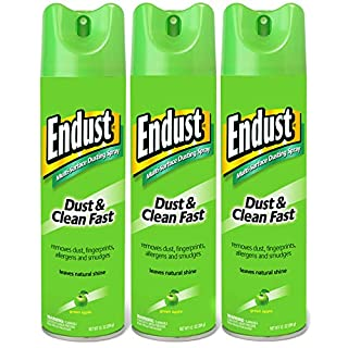 Endust Multi-surface Dusting and Cleaning Spray, Citrus, 3 Count