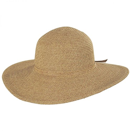 Brighton Toyo Straw Sun Hat - Toast (One Size Fits Most)