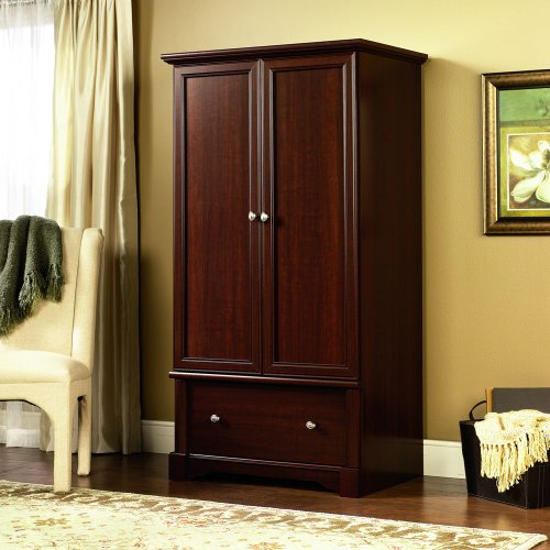 Sauder 411843 Palladia Armoire Cherry product image