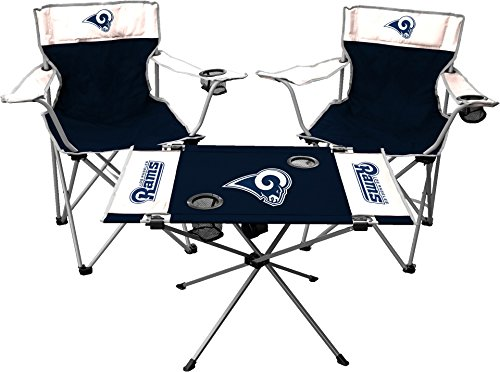 NFL Los Angeles Rams Tailgate Kit, Team Color, One Size by Jarden