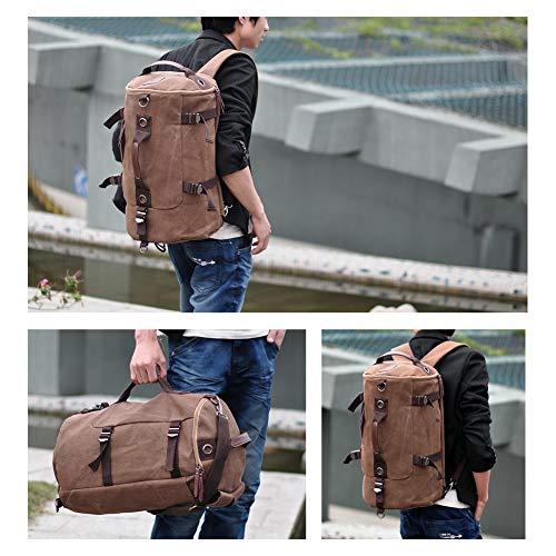 Weekender Voyage Duffel Nuit De Randonnée Sac Multi Yoome Bag À Capacité function Pour Dos Ordinateur Portable Grande Bleu 6wxUtqtfI