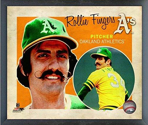 Rollie Fingers Oakland Athletics MLB Retro Composite Photo (Size: 12