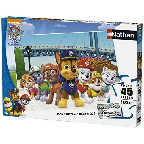 Nathan 86463 - Puzzle - Pat 'Patrouille - 45 Pièces