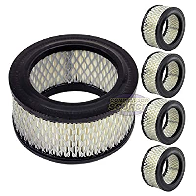 5 PACK New Filter Replacement Paper element for air compressor
