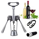 Esther Beauty Wing Corkscrew Stainless Multi Function Professional Efficient Wine Opener Wine Accessory Gift Set