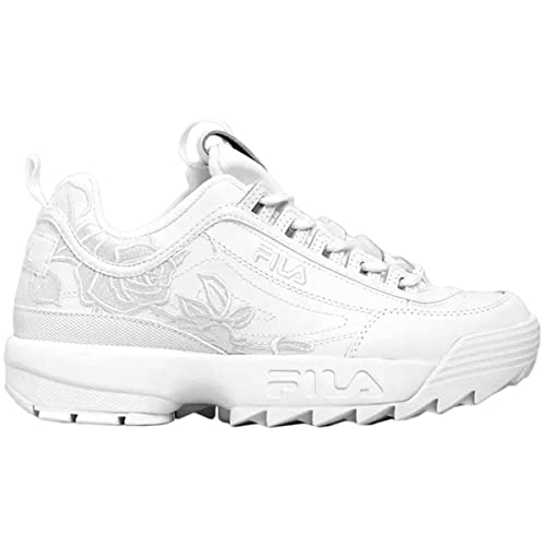 Fila Donna Disruptor 2 Embroidery Leather Synthetic White ...